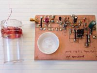 circuit board, as built