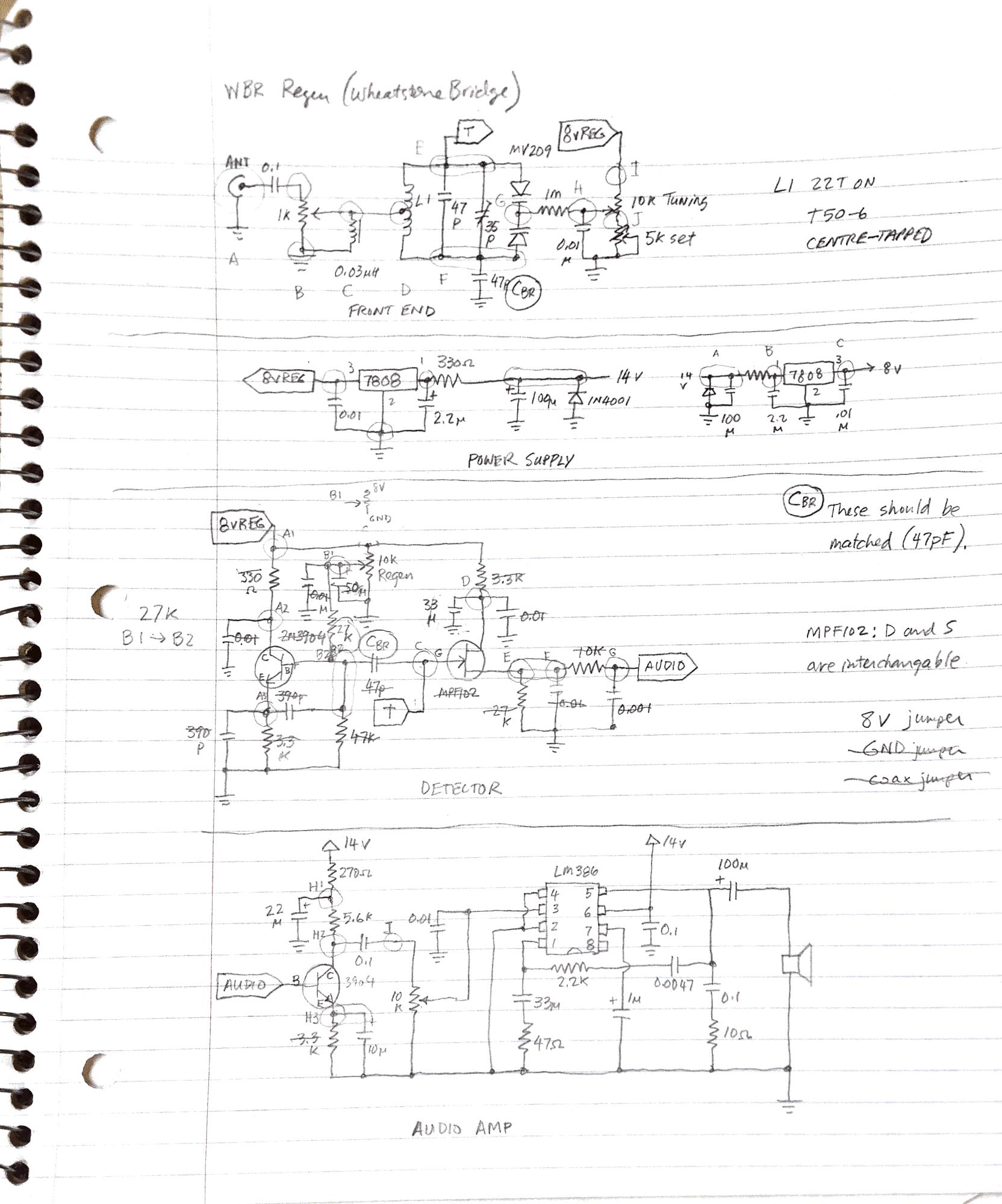 WBR regen schematic