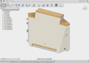 Screen Shot of Design in Fusion 360